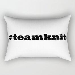 #teamknit Rectangular Pillow