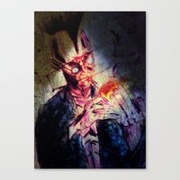 punk Canvas Prints featuring Punk by Shane R. Murphy