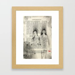 """Chloroform"" - You Do Not Exist   Framed Art Print"