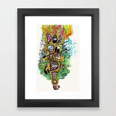 PORTLAND!!! Framed Art Print