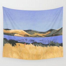 Lake in Marin County Wall Tapestry