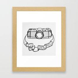 Let Me Show You Framed Art Print
