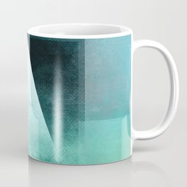 Triangle Composition X Coffee Mug