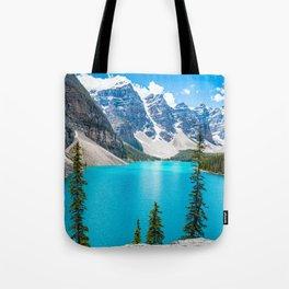 Moraine Lake Landscape Tote Bag