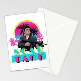 Scarface Miami Vice Mashup Stationery Cards
