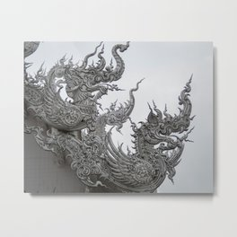 The White Temple - Thailand - 013 Metal Print