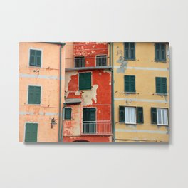 All About Italy. Piece 5 - Riomaggiore Colors Metal Print