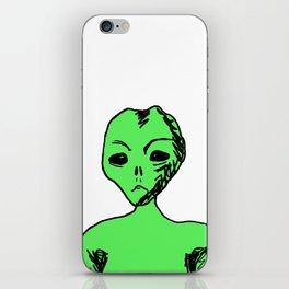 Alien iPhone Skin