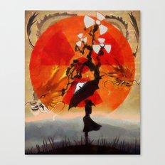 umbrellaliensunshine: natures' beautiful beasts Canvas Print