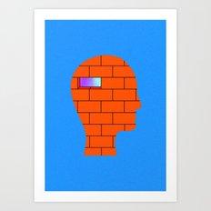 Head Space (No. 1) Art Print