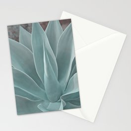 Azul Succulent Agave Plant Stationery Cards