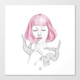 Qi Canvas Print