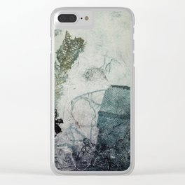 At the bottom Clear iPhone Case