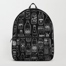 Seltzer Crazy Black Backpack