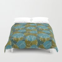 martini Duvet Covers featuring Tipsy Martini by Laurie Spugnardi