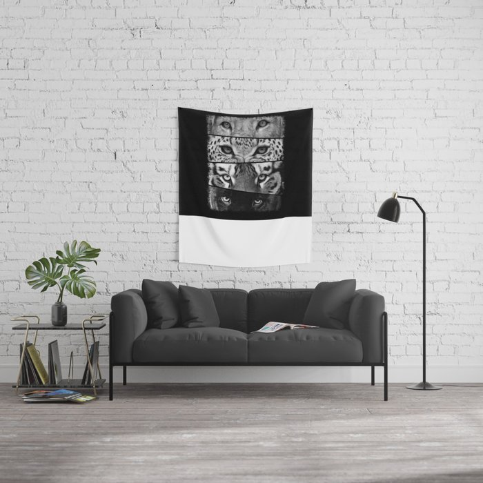 Primal Instinct - version 3 - no text Wall Tapestry