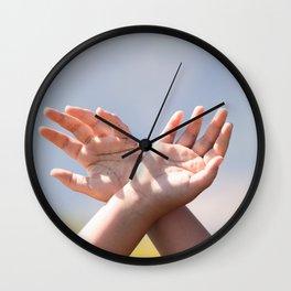 Qui Vivra Verra Wall Clock
