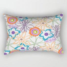FALL FLOWERS Rectangular Pillow