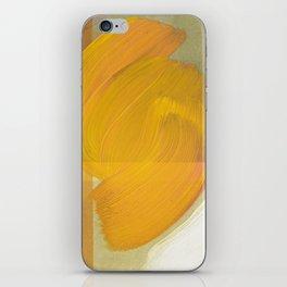 orange one iPhone Skin