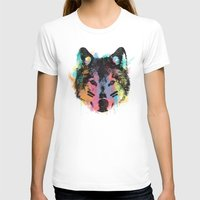 child T-shirts featuring Wolf Child by Zach Terrell