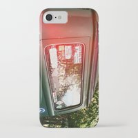 vw bus iPhone & iPod Cases featuring vw bus by MacKenna Carney