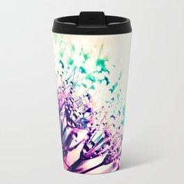 Pastel Flowers Travel Mug