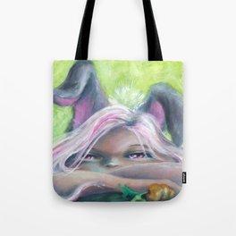 Z imagination Bunny Girl Tote Bag