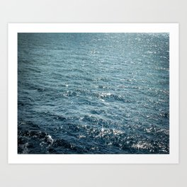 The Sparkle of the Sea Art Print