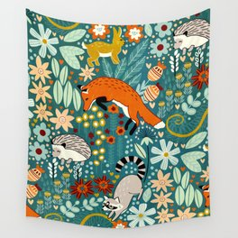 Woodland Pattern Wall Tapestry