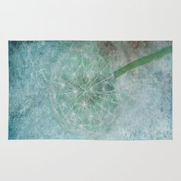 Delicate and Blue  Rug