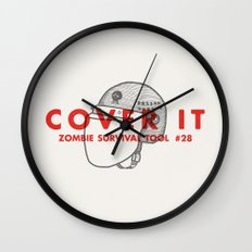 Cover it - Zombie Survival Tools Wall Clock