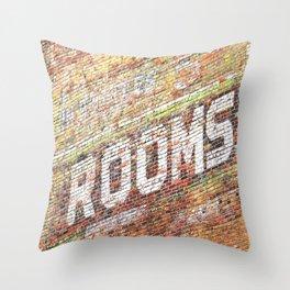 Rooms Throw Pillow