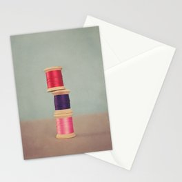 Thread Stack Stationery Cards