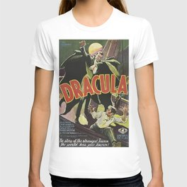 Dracula, vintage horror movie poster T-shirt