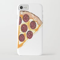 pizza iPhone & iPod Cases featuring Pizza by Sartoris ART