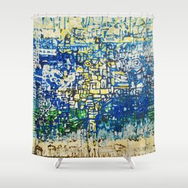 Middle Of The Ocean Shower Curtain