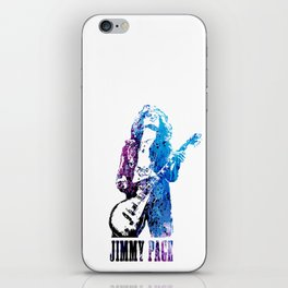 JIMMY PAGE PAINTING iPhone Skin