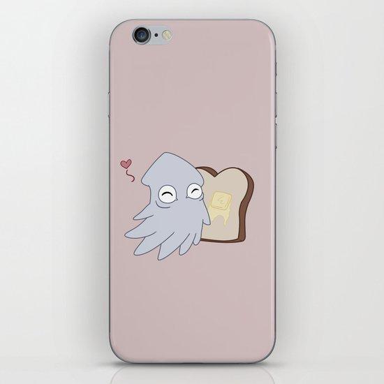 Kraken Toast iPhone & iPod Skin