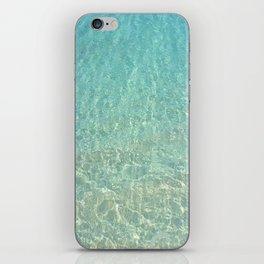 Colors of the Sea Water - Clear Turquoise iPhone Skin