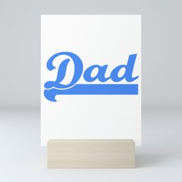 Mens New Dad Athletic Style - 2019 Rookie Dad Gift design Mini Art Print