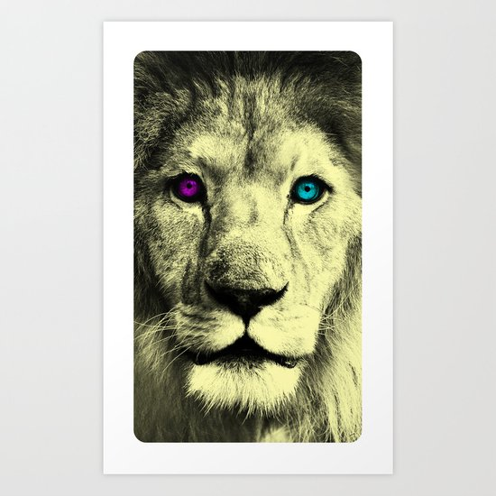 DaLionCM Art Print