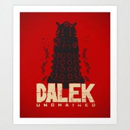 Dalek Unchained Art Print