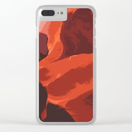 antelope canyon no. 3 Clear iPhone Case