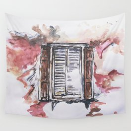 Window of Hope Wall Tapestry