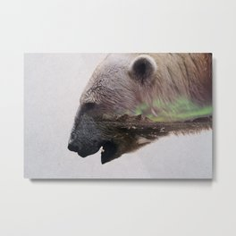 King Of The Arctic Metal Print