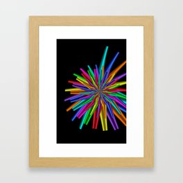 turn around with colors -15- Framed Art Print