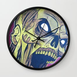 Zombie Attack! Wall Clock