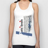 calligraphy Tank Tops featuring Calligraphy 2 by omerfarukciftci