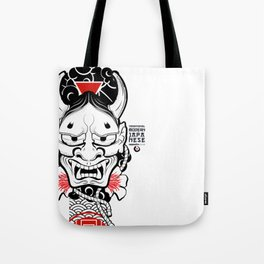 Demon _ Traditional Modern JAPANESE Tote Bag