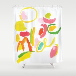 Abstract Landscape 1 Shower Curtain